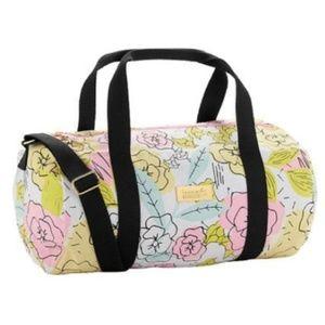 NWOT Benefit Cosmetics Floral Duffle Bag